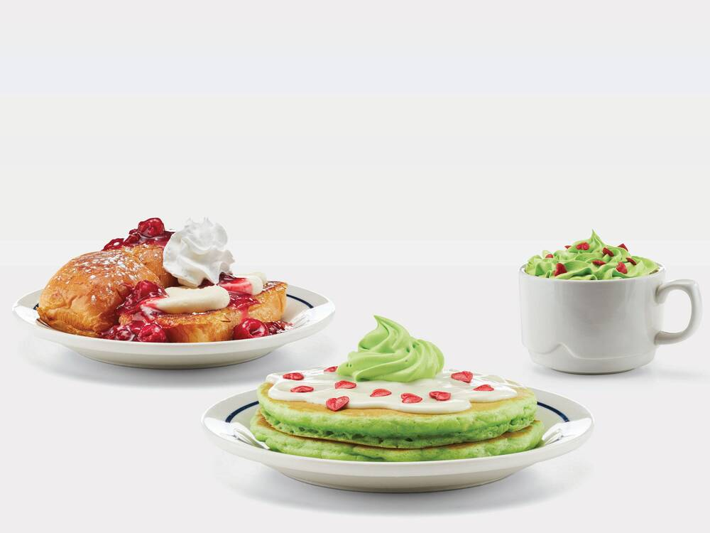 ihop grinch menu items - Any Restaurants Open On Christmas Day