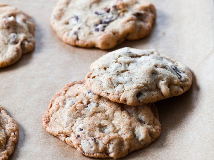 Nutty chocolate chip cookies recipe grace parisi food wine nutty chocolate chip cookies forumfinder Choice Image