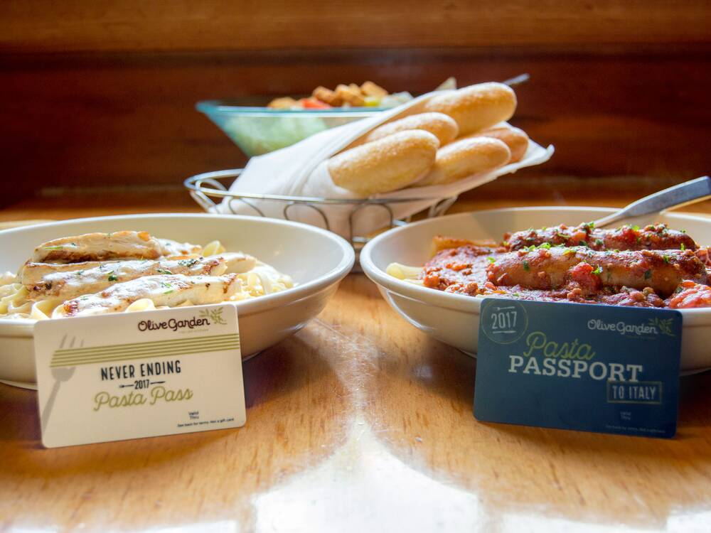 olive garden pasta pass - Is Olive Garden Open On Christmas Eve
