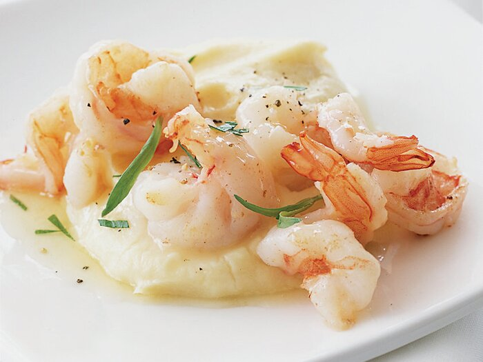 Parsnip puree with sauted shrimp and tarragon recipe mohammad parsnip puree with sauted shrimp and tarragon forumfinder Gallery
