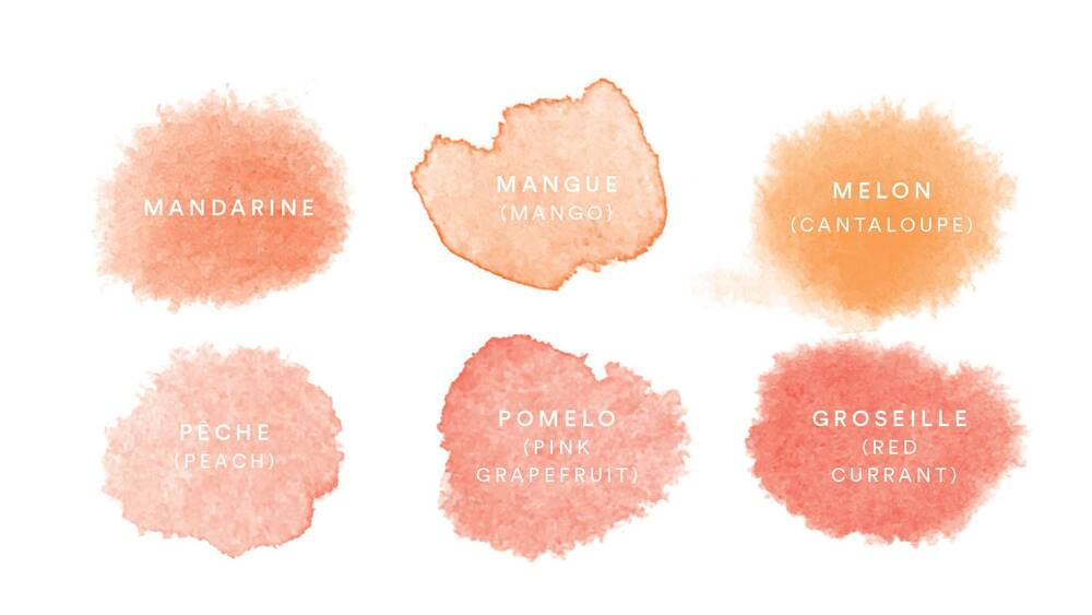the many colors of rosé food wine
