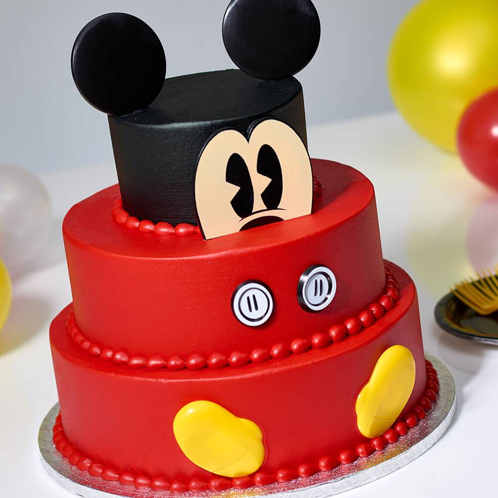 Sams Club Is Selling 3 Tier Mickey Mouse Cakes For The Characters 90th Birthday