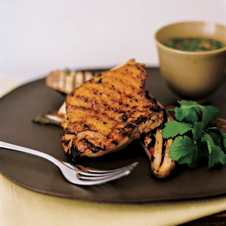 Vietnamese Grilled Chicken And Eggplant Recipe Melissa Clark