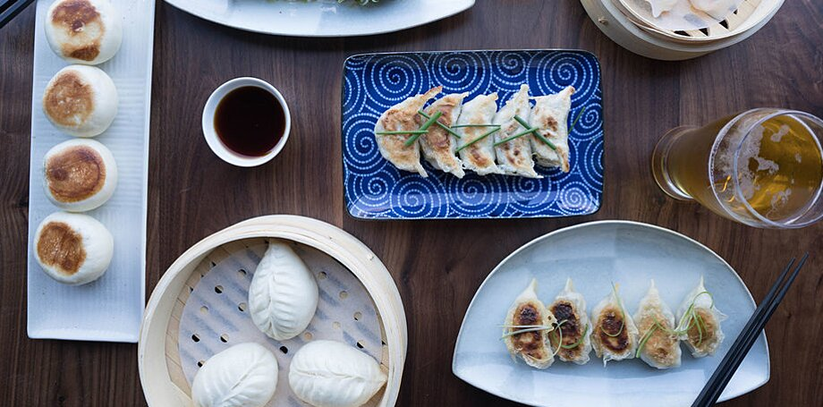 Easy finger foods recipes ideas food wine dumpling time forumfinder Image collections