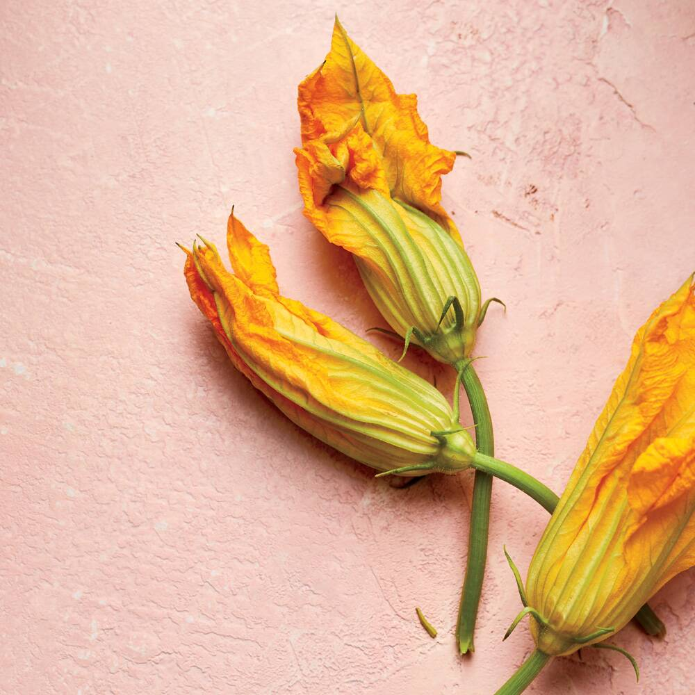 How To Buy Prep And Cook Squash Blossoms Food Wine