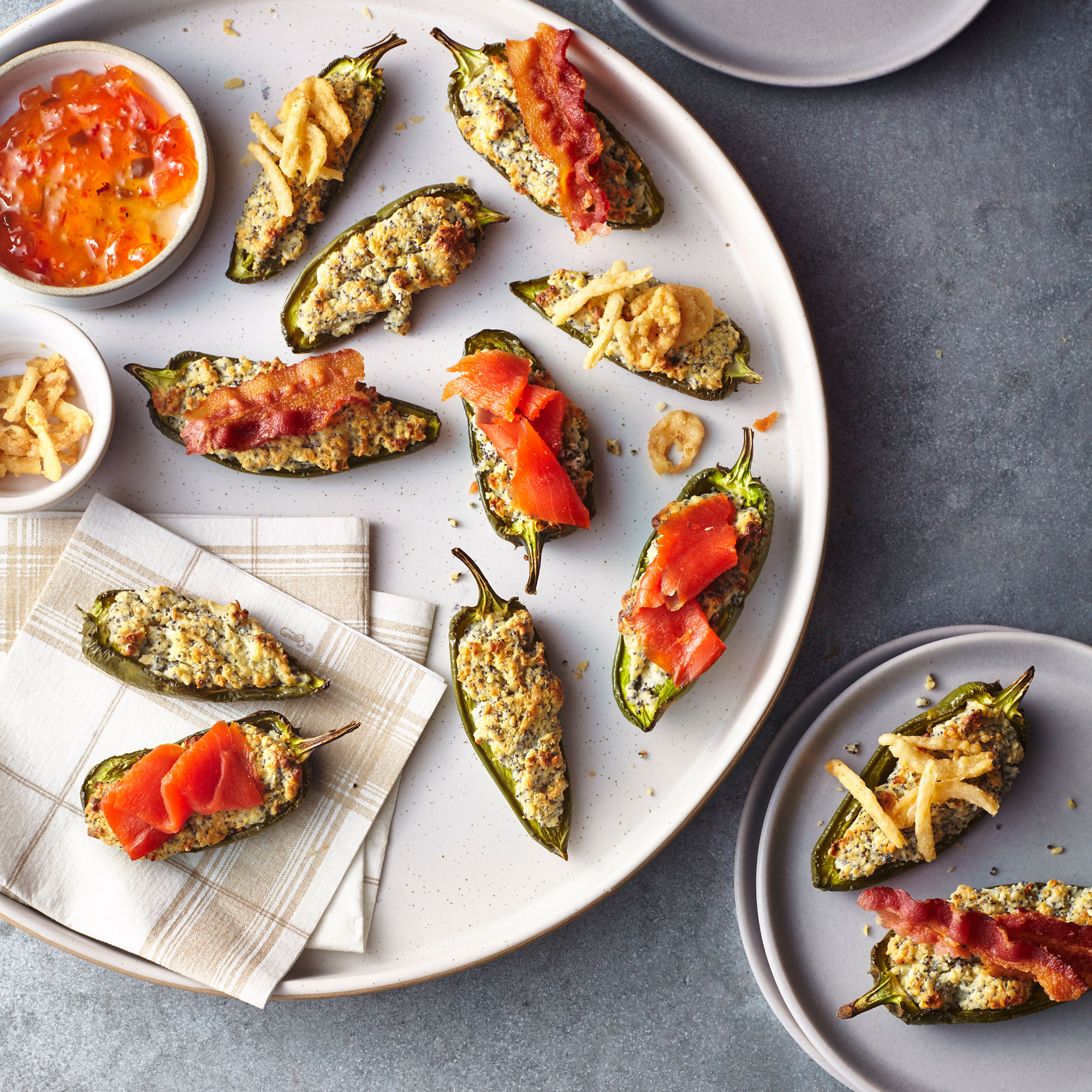 Everything Cream Cheese Jalapeno Poppers Image