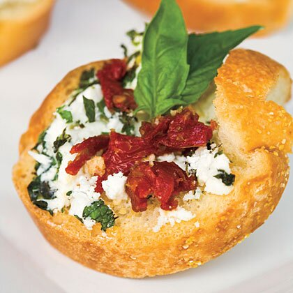 The hunger games feast recipes from panem myrecipes herbed goat cheese bites forumfinder Choice Image