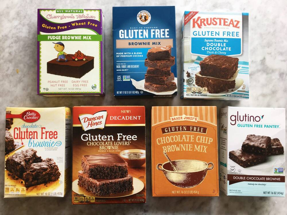 We Tried 7 Gluten Free Boxed Brownie Mixes And This Was Our Favorite