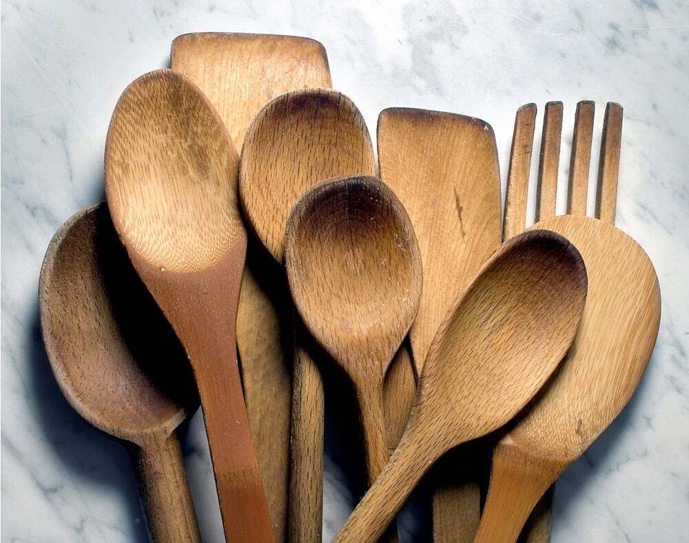 is it safe to cook with wooden spoons myrecipes