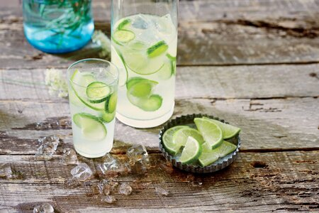 Cucumber Lime Infused Gin And Tonic Recipe Myrecipes