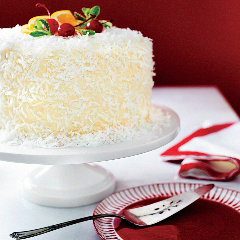 Ambrosia Coconut Cake Recipe Myrecipes