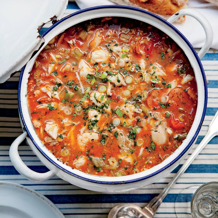 Best ever seafood gumbo recipe myrecipes best ever seafood gumbo forumfinder Choice Image