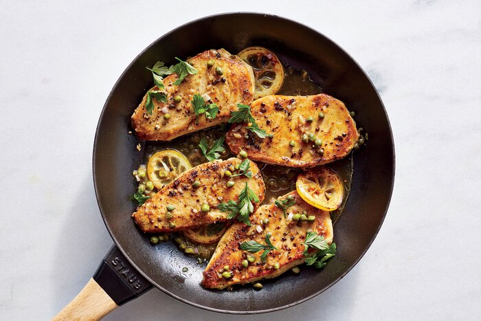 Chicken piccata recipe myrecipes chicken piccata forumfinder Image collections