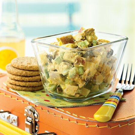 Curried Chicken Salad With Apples And Raisins Recipe Myrecipes