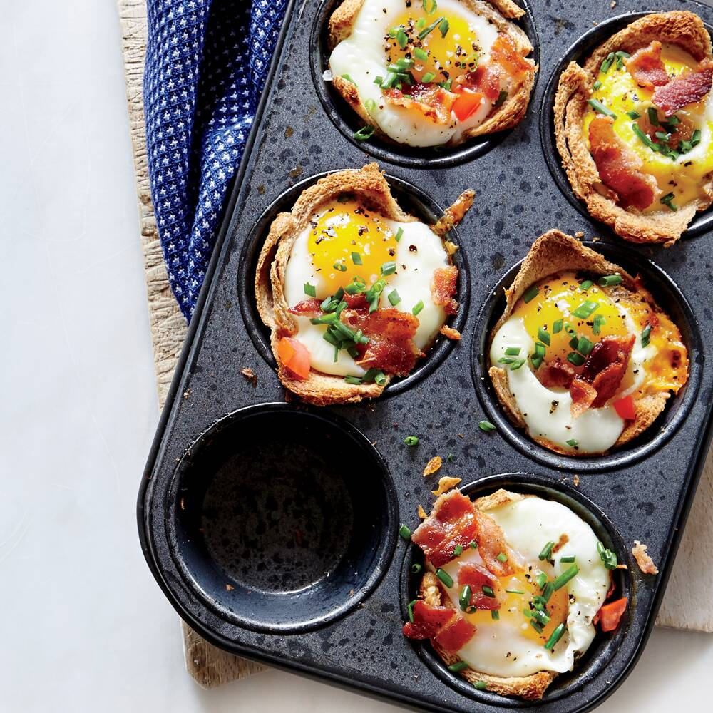 Egg and toast cups recipe myrecipes forumfinder Choice Image