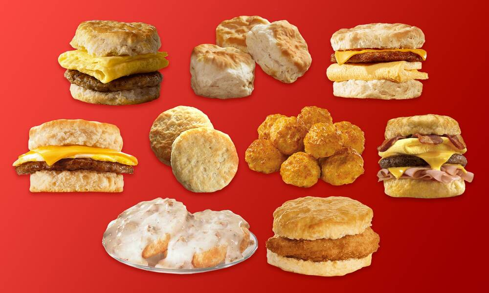 9 fast food biscuits ranked from worst to best myrecipes