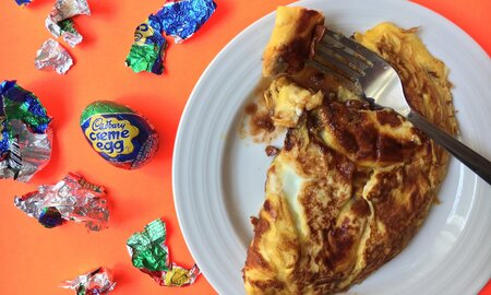b1884e51e7a8 Cadbury Creme Egg Omelets Are the Easter Treat You Never Knew You Wanted