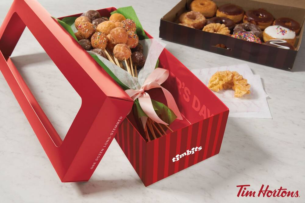 Tim Hortons Has A Doughnut Bouquet For Mothers Day Extra Crispy