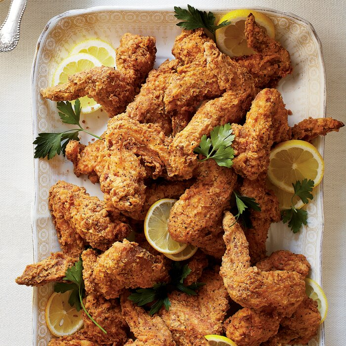 Fried chicken wings recipe myrecipes fried chicken wings forumfinder Choice Image