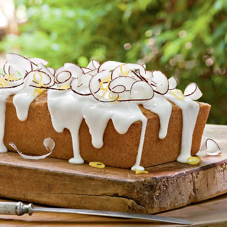Lemon Coconut Pound Cake Loaf Recipe Myrecipes