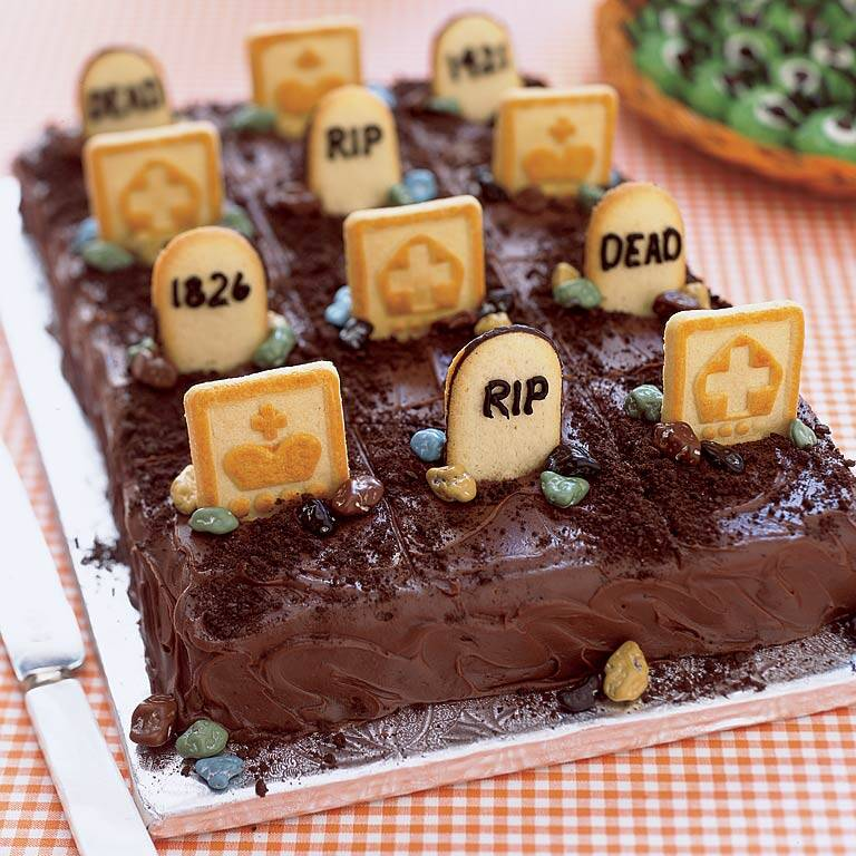 Graveyard Cake Recipe Myrecipes