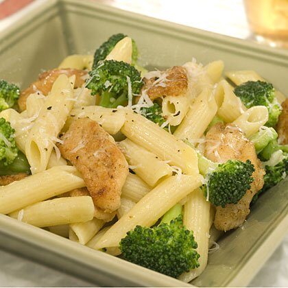 Penne With Chicken Broccoli Recipe Myrecipes