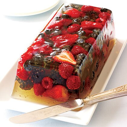 Very Berry Gelatin Jello Recipe