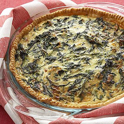 Spinach And Cheese Quiche Recipe Myrecipes