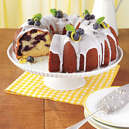 Lemon Blueberry Bundt Cake Recipe Myrecipes