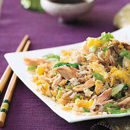 Chicken and cabbage fried rice recipe myrecipes chicken and cabbage fried rice ccuart Image collections