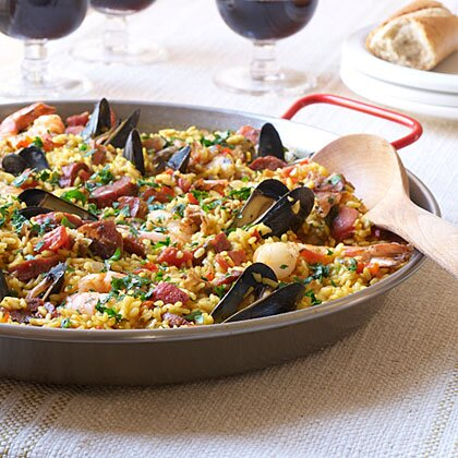 Traditional Spanish Paella Recipe Myrecipes