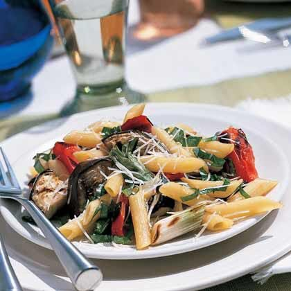 Grilled italian vegetables with pasta recipe myrecipes grilled italian vegetables with pasta forumfinder Images