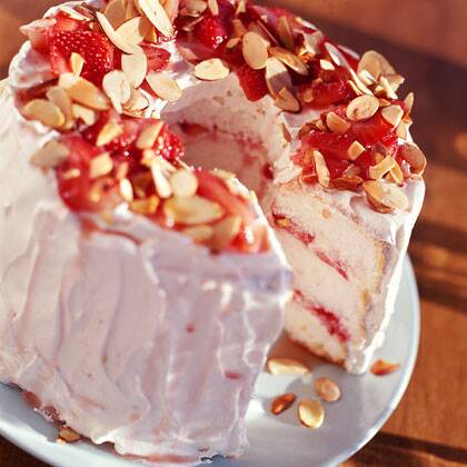 Strawberry angel cake recipe myrecipes strawberry angel cake forumfinder Image collections