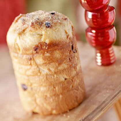 Panettone italian christmas bread recipe myrecipes panettone italian christmas bread forumfinder Choice Image
