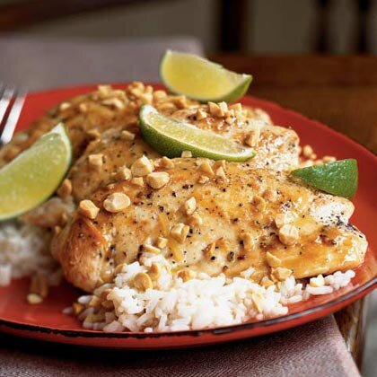 Thai fish sauce and lime chicken recipe myrecipes thai fish sauce and lime chicken forumfinder Images