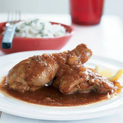 African chicken in spicy red sauce recipe myrecipes african chicken in spicy red sauce forumfinder Image collections