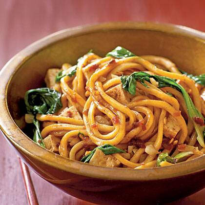 Spicy malaysian style stir fried noodles recipe myrecipes spicy malaysian style stir fried noodles forumfinder Images