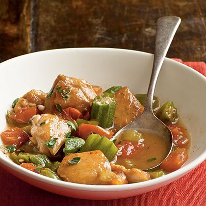 Chicken And Okra Stew Recipe Myrecipes