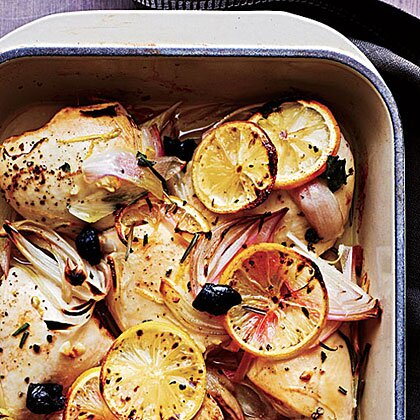 Chicken With Olives And Lemons Recipe Myrecipes