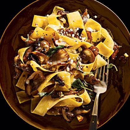 pappardelle with mushrooms recipe myrecipes