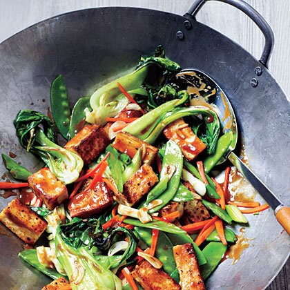 Veggie and tofu stir fry recipe myrecipes veggie and tofu stir fry forumfinder Image collections