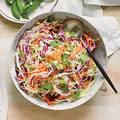 Tequila slaw with lime and cilantro recipe myrecipes forumfinder Image collections