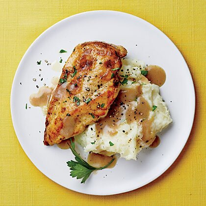 Chicken With Mashed Potatoes And Gravy Recipe Myrecipes