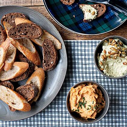 Austrian cheese spread with pumpkin seed oil recipe myrecipes photo michael turek forumfinder Image collections