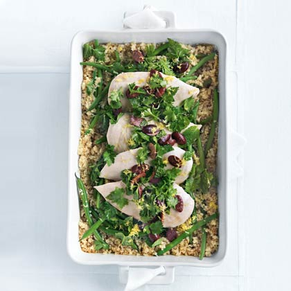 Image result for Quinoa Roasted with olive Gremolata