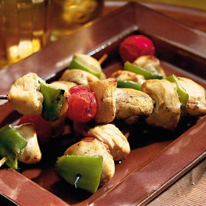 Chicken Vegetable Kabobs Recipe Myrecipes