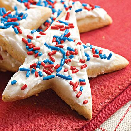 frosted sugar n spice cookies
