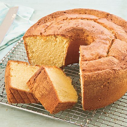 Two Step Pound Cake