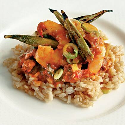 lowcountry shrimp and okra pilau recipe myrecipes