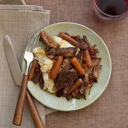 Slow cooker chuck roast recipe myrecipes slow cooker chuck roast forumfinder